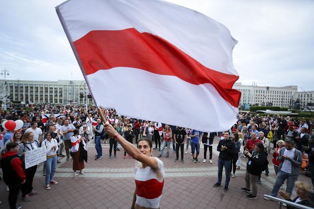 Telegram changes emoji of Belarus flag in support of protesters