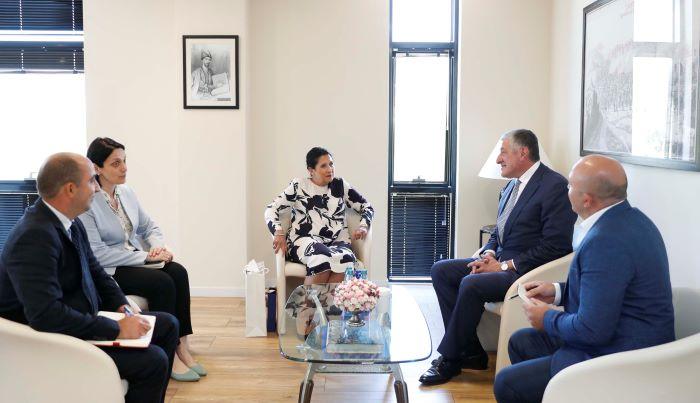 Georgian president meets outgoing Azerbaijani ambassador