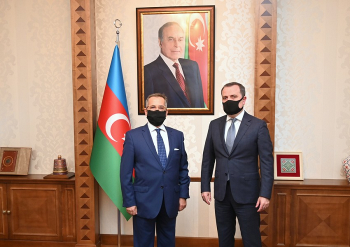 Azerbaijani FM meets with newly appointed Greek ambassador