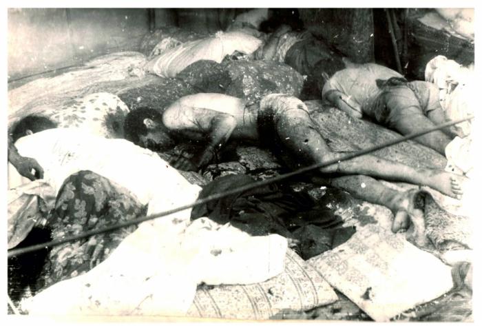 Pasan 28 años desde el genocidio en Balligaya
