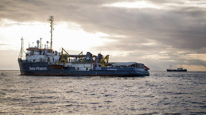 Rescue ship with 200 migrants stranded at sea as Malta denied access