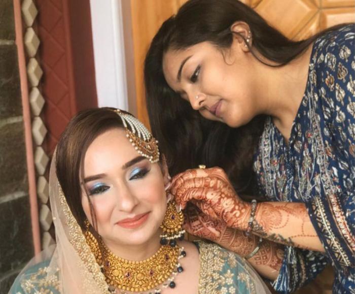 Kashmiri woman Hebba making her mark in bridal fashion industry