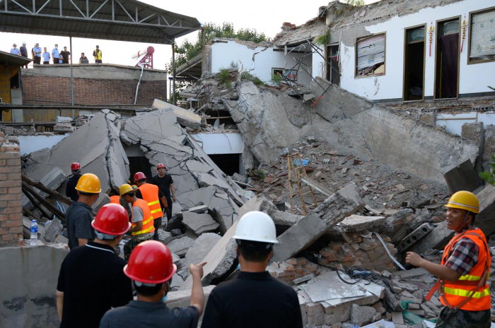 At least 29 dead in restaurant collapse in China