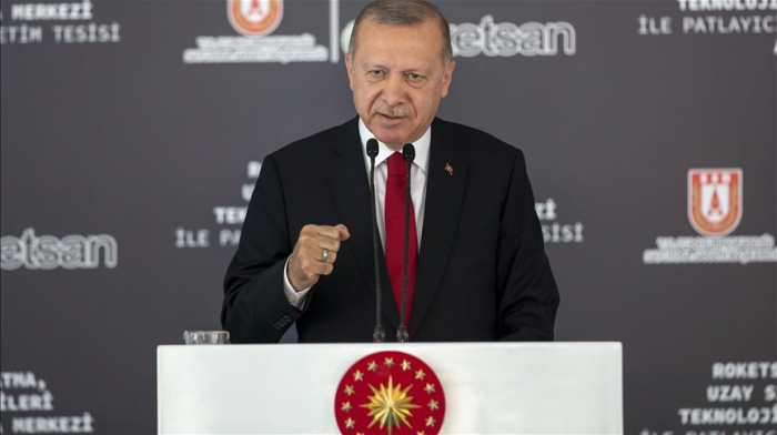 Erdogan says Turkey to launch space trials of domestic rocket engines