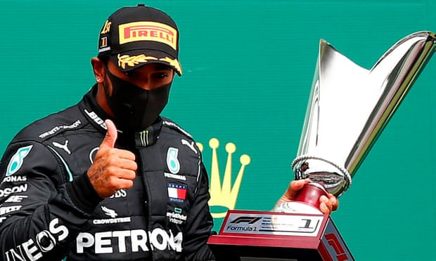Lewis Hamilton admits the fact Mercedes are in a one-horse race