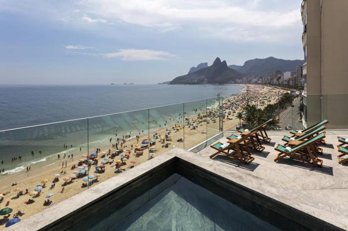 Une application lancé pour réserver la plageà Rio de Janeiro auBrésil