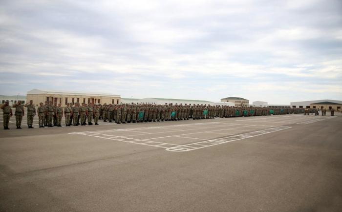 Azerbaijani troops begin summer training period