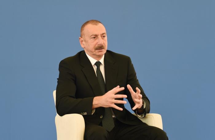 President: Gobu Power Station will reinforce Azerbaijan