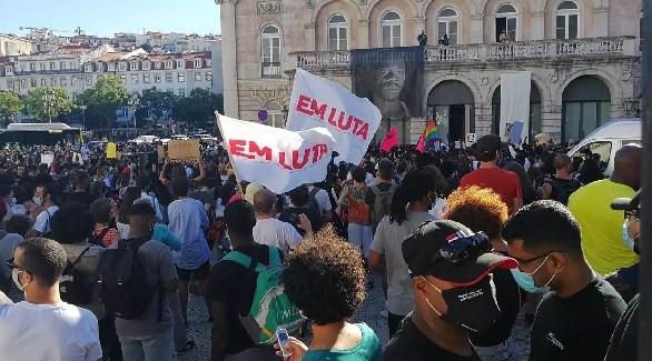 في عاصمة البرتغال إحتجاج على مقتل ممثل أسود بالرصاص