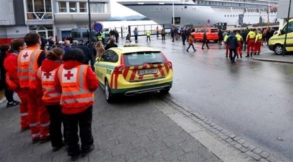 إصابة 33 من طاقم سفينة سياحية نرويجية بكورونا