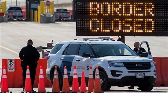 تمديد فترة إغلاق حدود كندا