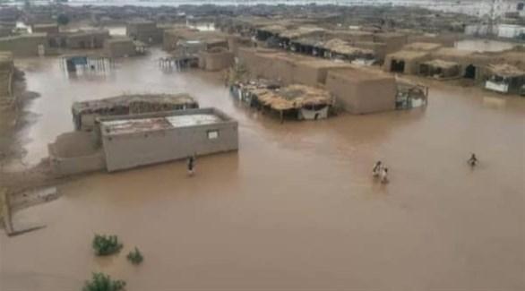 دمار مئات المنازل بسبب الأمطار الغزيرة