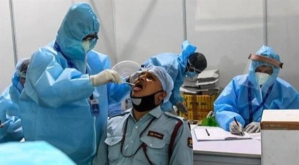 نحو 55 ألف إصابة جديدة بكورونا في الهند