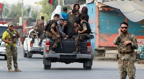 اشتباك بين داعش والقوات الأفغانية