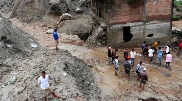 أمطار غزيرة تتسبب مقتل ثمانية عمال في نيبال