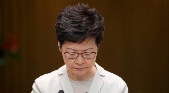 عقوبات أمريكية على رئيسة هونغ كونغ ومسؤولين صينيين