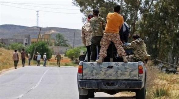 اشتباكات بين مجموعات موالية لحكومة الوفاق الليبية