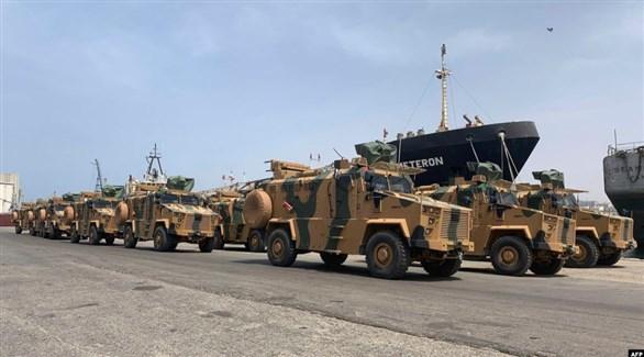 فرض عقوبات على مخالفي حظر تصدير السلاح لليبيا