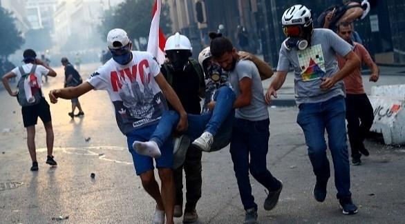 استمرار الاحتجاجات في بيروت لليوم الثالث