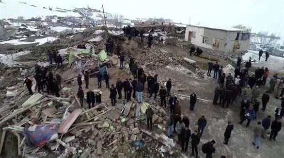 زلزال بقوة 4.4 درجات في شرقي تركيا