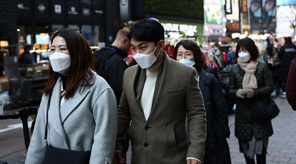 54 إصابة جديدة بفيروس كورونا في كوريا الجنوبية