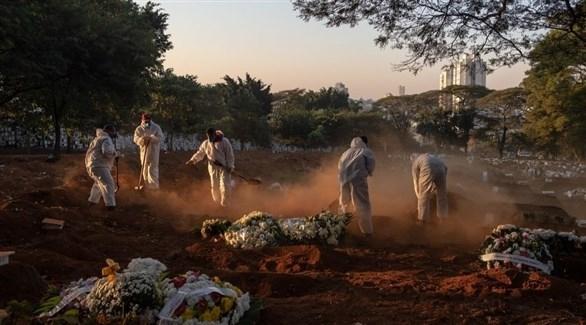 تسجيل 52 ألف إصابة جديدة و1300 وفاة بكورونا في البرازيل