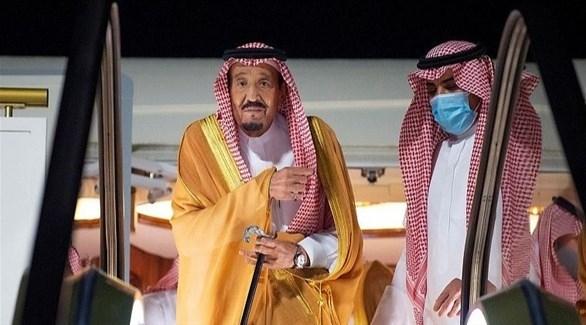 العاهل السعودي الملك سلمان وصل منطقة نيوم الاقتصادية
