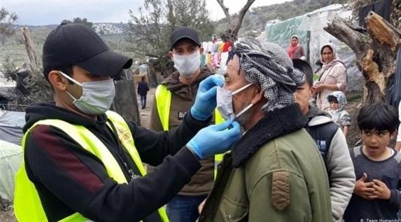 تسجيل أول إصابة كورونا في مخيم للمهاجرين باليونان