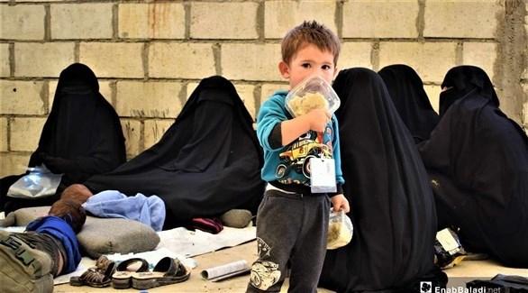 ثمانية أطفال توفي في مخيم الهول في شمال شرق سوريا