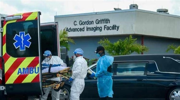 إجمالي الإصابات بفيروس كورونا المستجد يرتفع في الولايات المتحدة