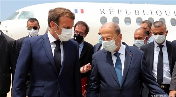 ماكرون يؤكد موقف بلاده في قضية لبنان