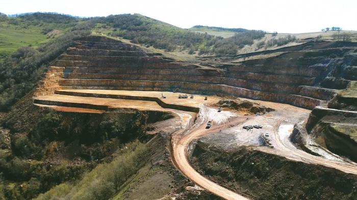 In Dashkesan nimmt eine Eisenerzlagerstätte in Betrieb