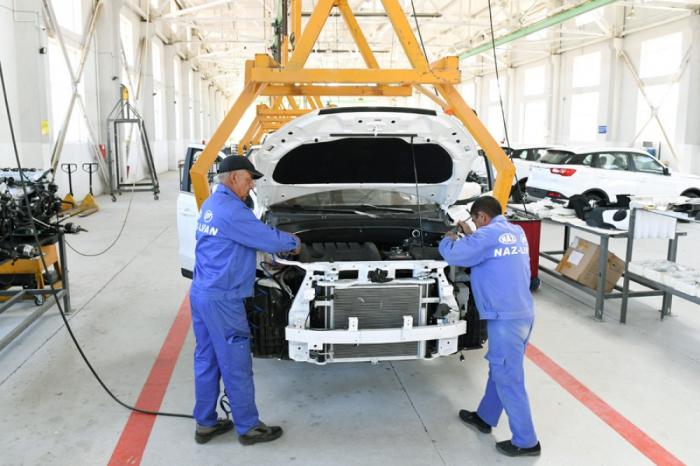 Azərbaycanda avtomobil istehsalı azalıb