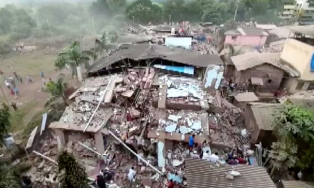 More than 60 survivors pulled from collapsed building in Mumbai