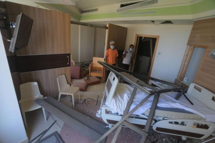 Beyrouth: Plus de la moitié des hôpitaux «hors service»