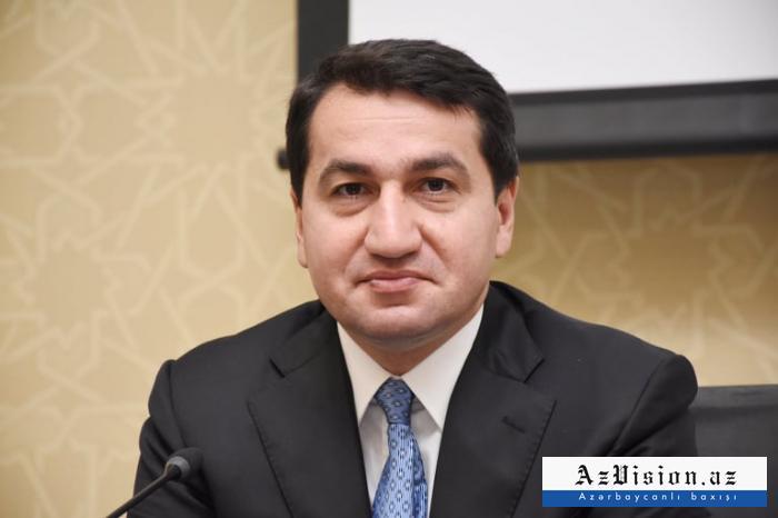 """""""La situation dans le pays est sous contrôle"""",  Hikmet Hadjiyev"""