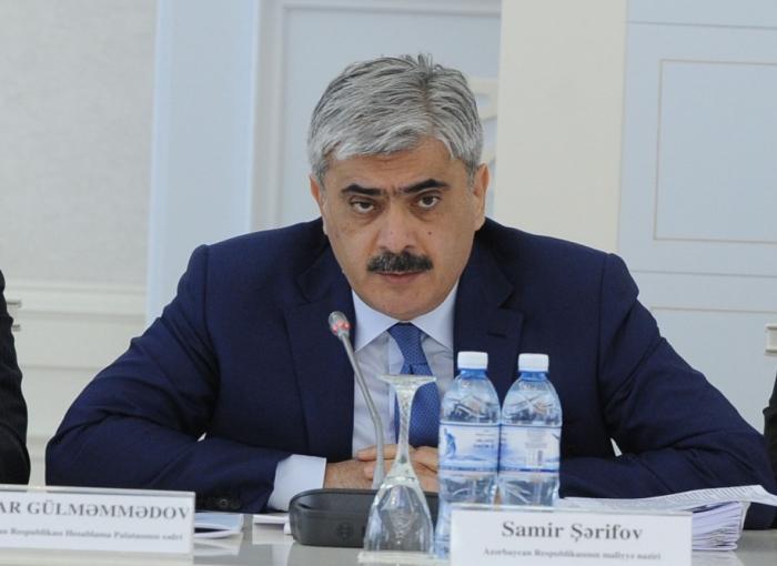 """""""Hazırda bütün ehtiyatlardan istifadə edilir"""" -    Samir Şərifov"""