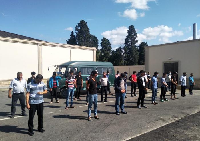 Xaçmaza qanunsuz gedən 28 nəfər aşkarlandı    - FOTO