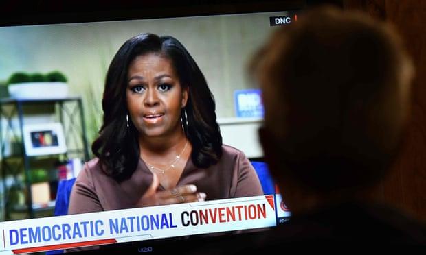 Michelle Obama slams Trump as