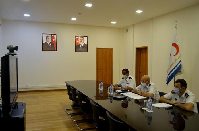 """""""Dəniz kuboku""""nun iştirakçıları ilə videokonfrans keçirilib"""