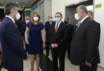 Dos complejos deportivos olímpicos se convierten en hospitales temporales en Azerbaiyán