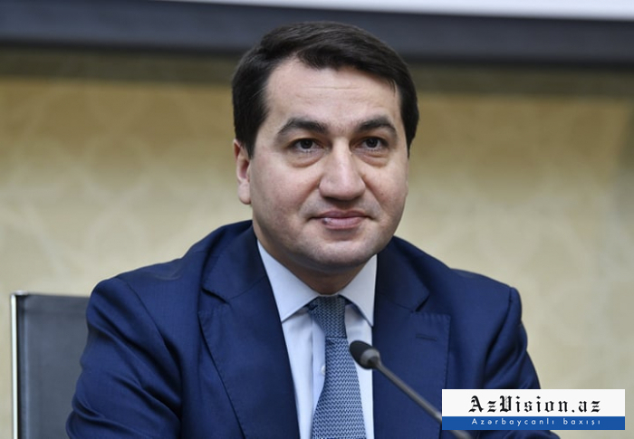 Hikmet Hadjiyev:  «La nouvelle stratégie de sécurité nationale de l'Arménie nuit gravement aux négociations»
