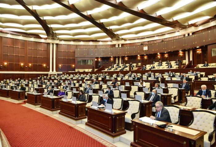 Sabah Milli Məclisin son iclası olacaq