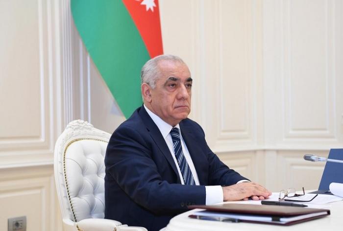 علي أسدوف يبعث برسالة إلى نائب رئيس تركيا