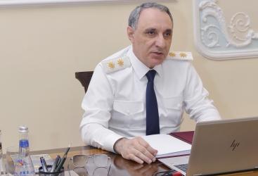 La Fiscalía General de Azerbaiyán celebra reunión operativa en composición ampliada