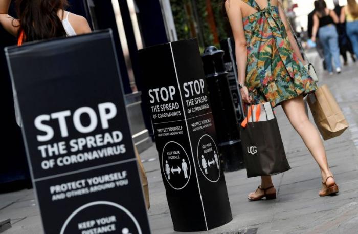 """Coronavirus: Londres subit officiellement une récession """"record"""""""