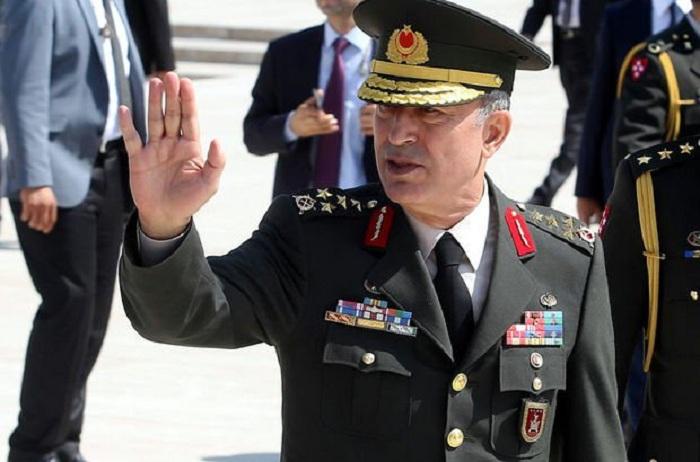 """""""Aserbaidschaner sind unsere Brüder"""" -   Hulusi Akar"""