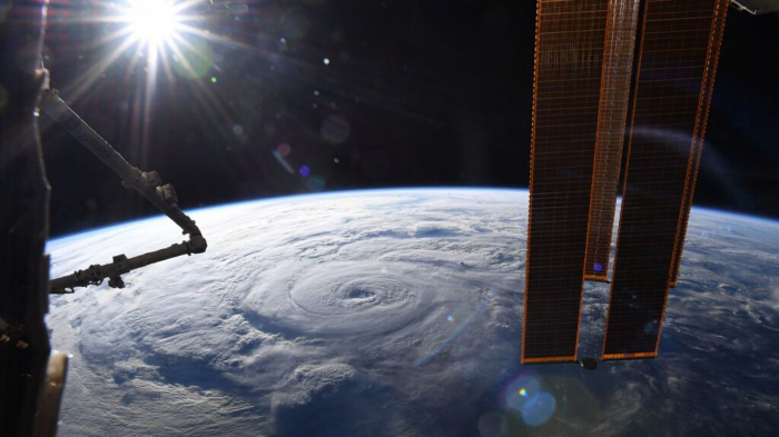 Stunning pictures of hurricane Genevieve from space -   PHOTOS