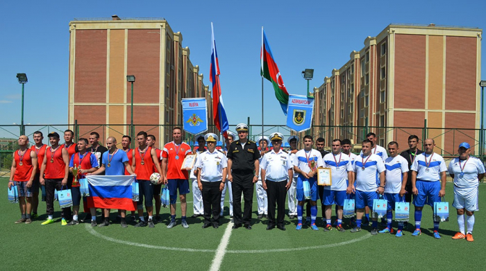 """Participants of the """"Sea Cup"""" contest compete in friendly matches"""
