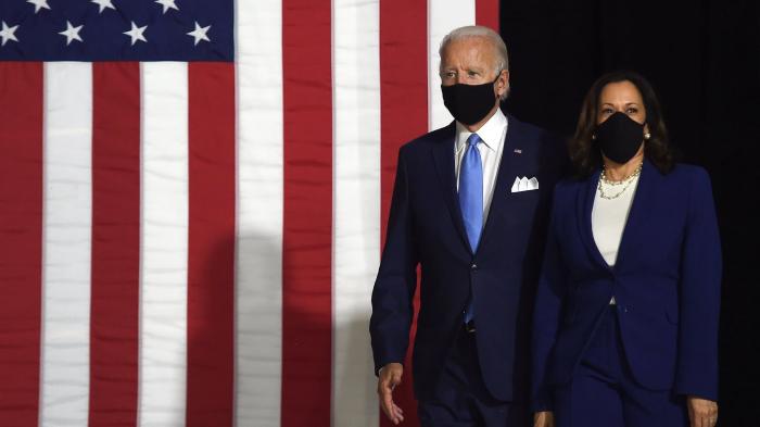 Présidentielle US: Biden et Kamala Harris promettent ensemble de «reconstruire» l